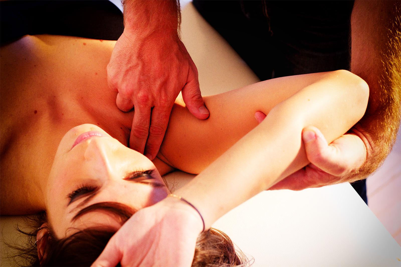 Epaule : thérapie manuelle et rééducation
